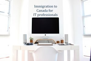 Immigration to Canada for IT professionals